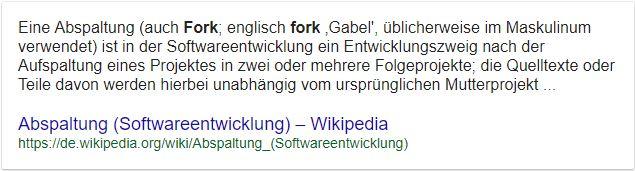 Bitcoin Fork definition